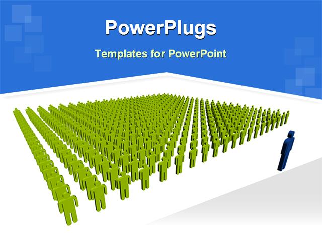 image of leadership powerpoint template background of leadership