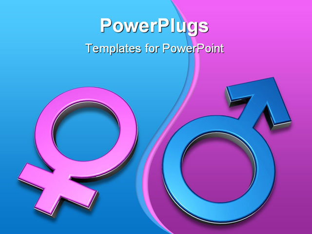 Female gender symbol wallpaper images powerpoint template 3d gender symbols pink female symbol toneelgroepblik Image collections