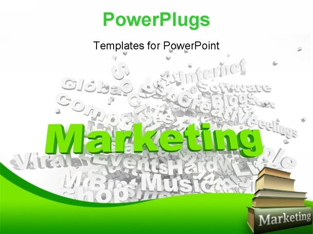 marketing powerpoint template