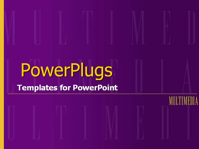 purple and yellow push with dominant multimedia wo