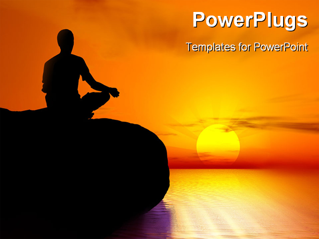 Yoga and meditation powerpoint how to find soulmate through a low priced template suite that includes your choice of template subscriptions as well as volumes of charts diagrams animated 3d characters and 3d toneelgroepblik Image collections