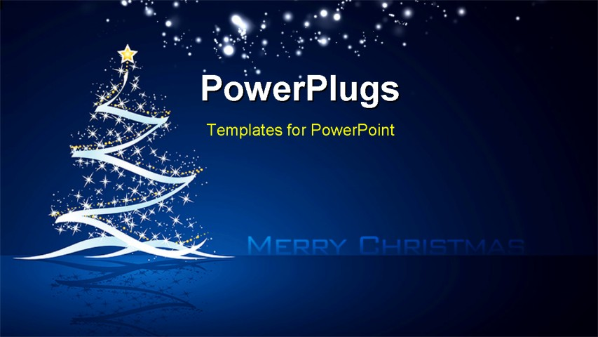 Merry powerpoint template merry christmas 2013 backgrounds powerpoint template christmas tree with stars and merry powerpoint template toneelgroepblik Gallery