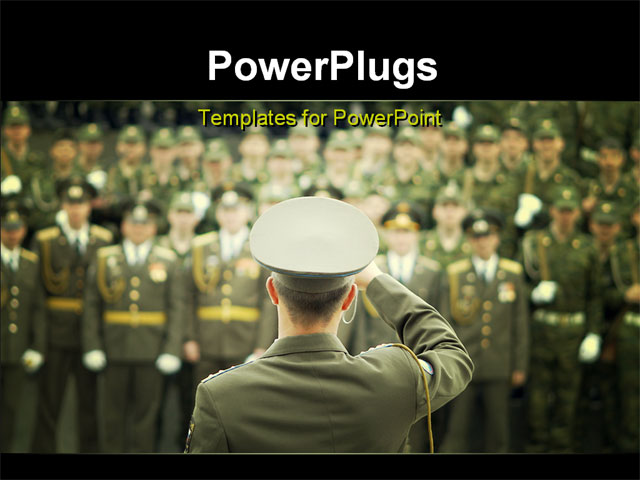 Military powerpoint template mandegarfo military powerpoint template toneelgroepblik Gallery