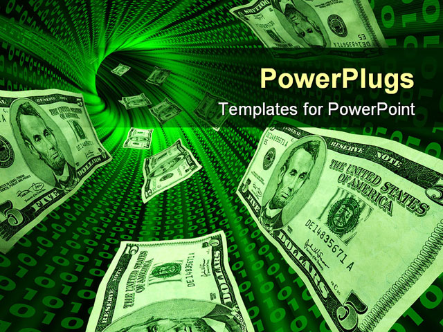 Money Background For Powerpoint Powerpoint template about