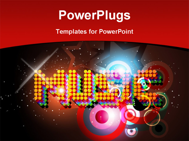 powerpoint music theme