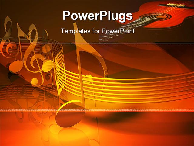 Images of music notes background powerpoint sc powerpoint template background of music leisure entertainment toneelgroepblik Choice Image