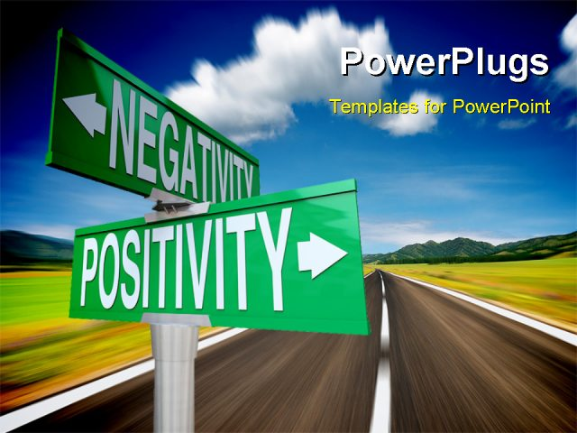Positive And Negative Signs Positivity vs Negativity