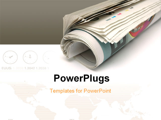 Newspaper powerpoint template zesloka toneelgroepblik Choice Image