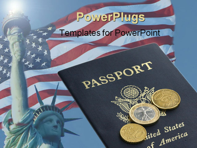 Gallery For > American Passport Background