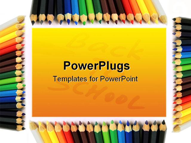 Kindergarten Calendar Powerpoint : Lovelly vivid colored frame good for illustrations