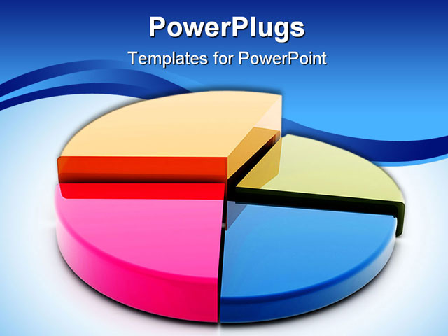 Pie Chart Template Powerpoint 3d Pie Chart Free Powerpoint And ...