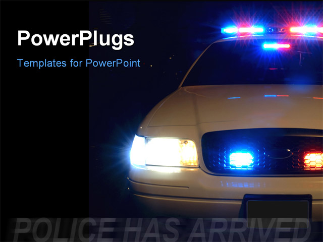 28 Law Enforcement Powerpoint Templates Police