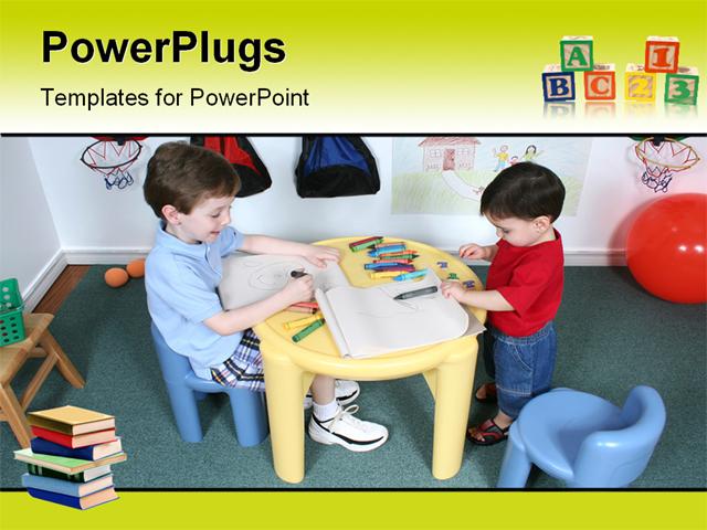 Preschool powerpoint template passionative preschool powerpoint template toneelgroepblik Image collections