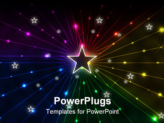 Star Powerpoint Templates  BesikEightyCo