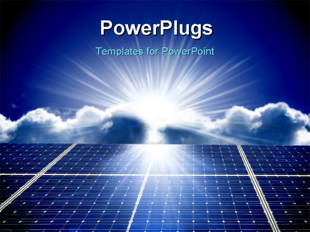Solar home power system price in pakistan gsmarena solar panels very nice powerpoint template with dark blue sky with a sun at the background and solar battery with butterfly toneelgroepblik