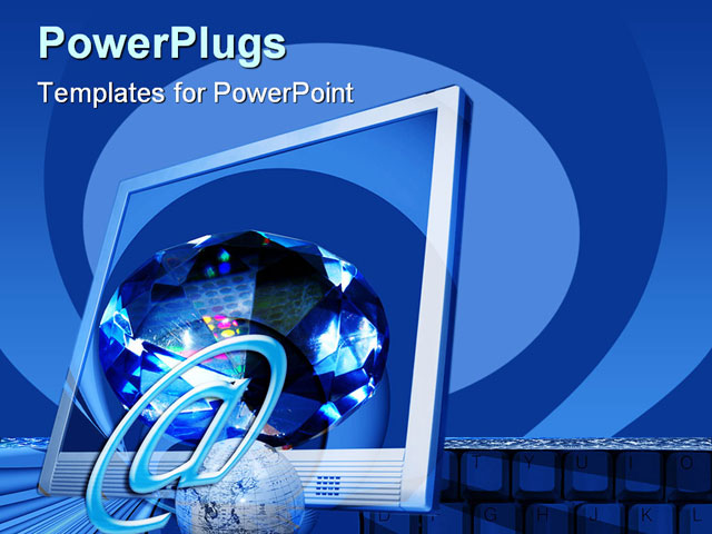 powerpoint templates information technology choice image, Modern powerpoint