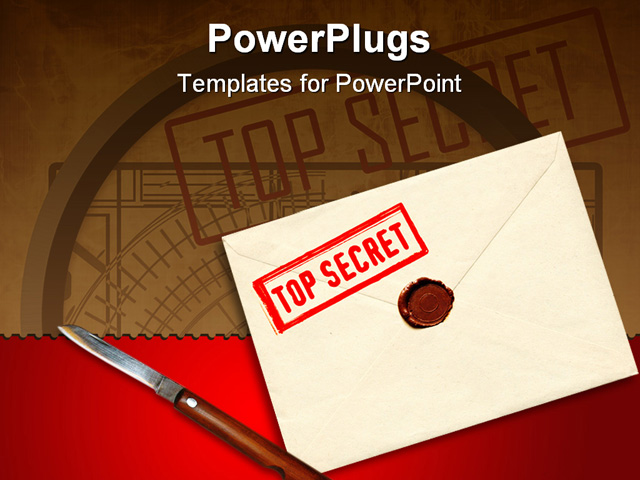 Top Secret Powerpoint Template - Best of notebook paper powerpoint template design