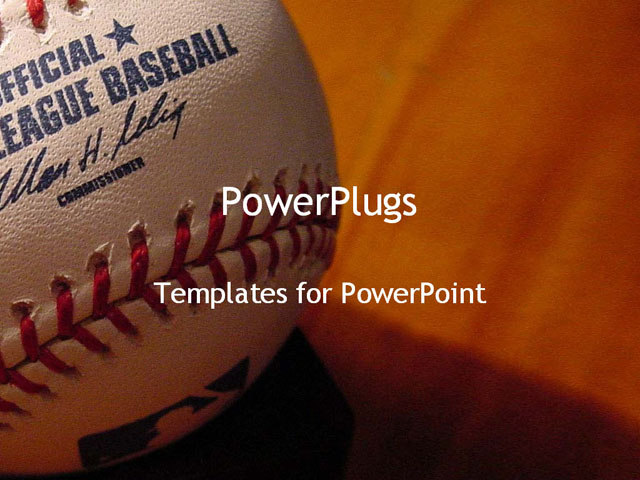 Baseball powerpoint template aradio baseball powerpoint template toneelgroepblik Images