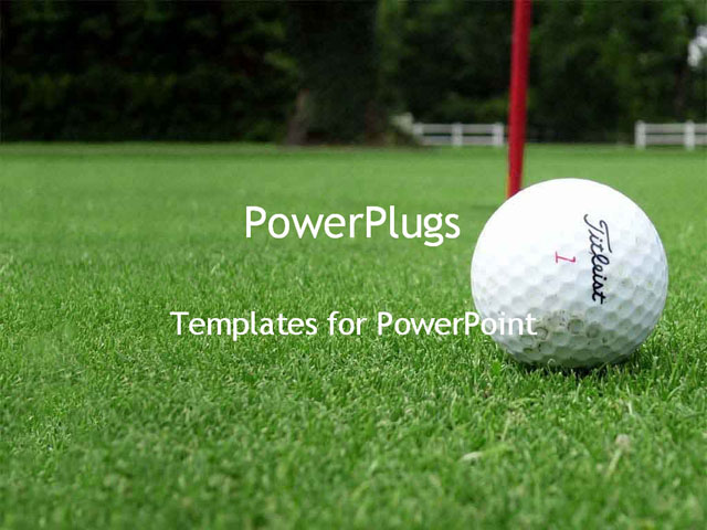 Golf powerpoint template powerpoint template golf course with white pin golf ball powerpoint template on pinterest golf powerpoint template toneelgroepblik Gallery