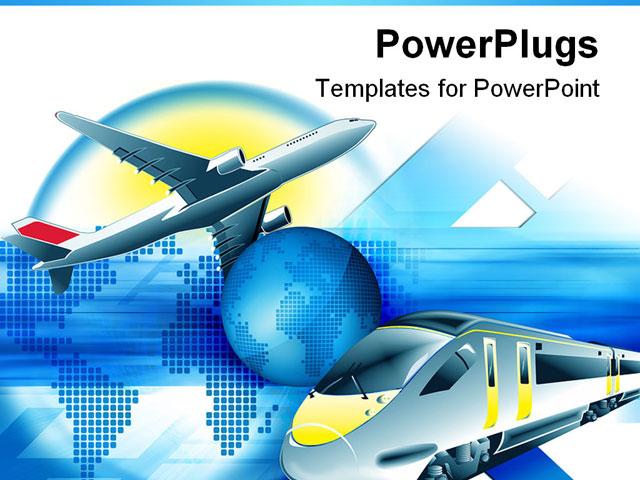 Plane powerpoint templates vatozozdevelopment plane powerpoint templates toneelgroepblik Choice Image