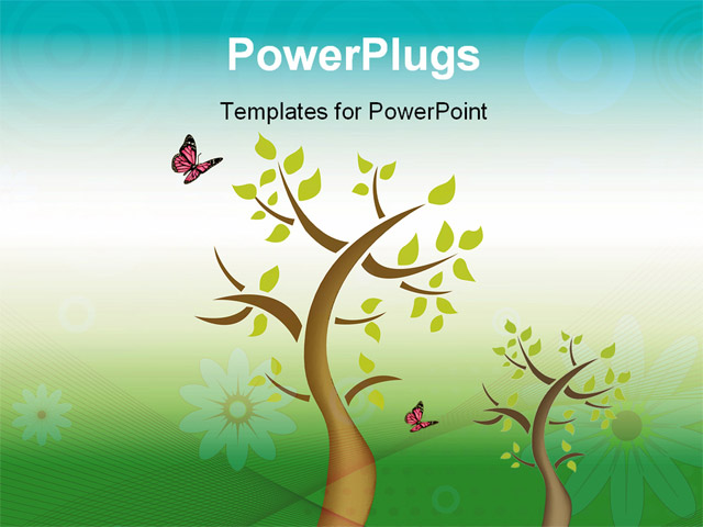 Powerpoint Tree Template Roho4senses