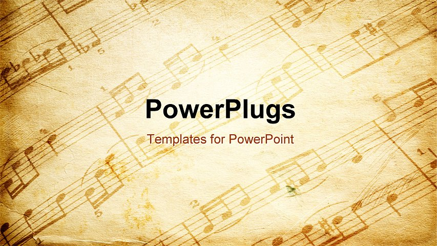 powerpoint template vintage paper background depicting