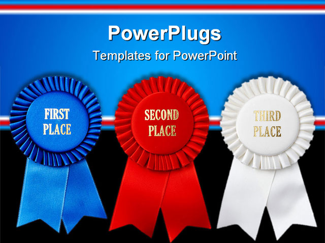 Printable First Second Third Place Ribbon