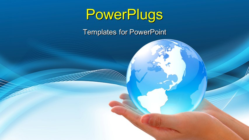 Presentation Map Background Editable Maps For PowerPoint